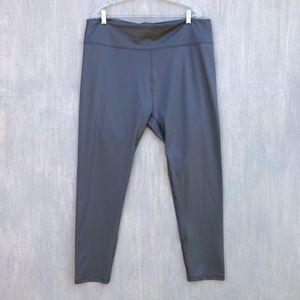 NWT Fabletics lisette high waisted legging grey 3x